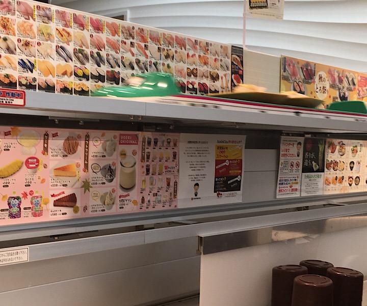新幹線で届けられるお寿司