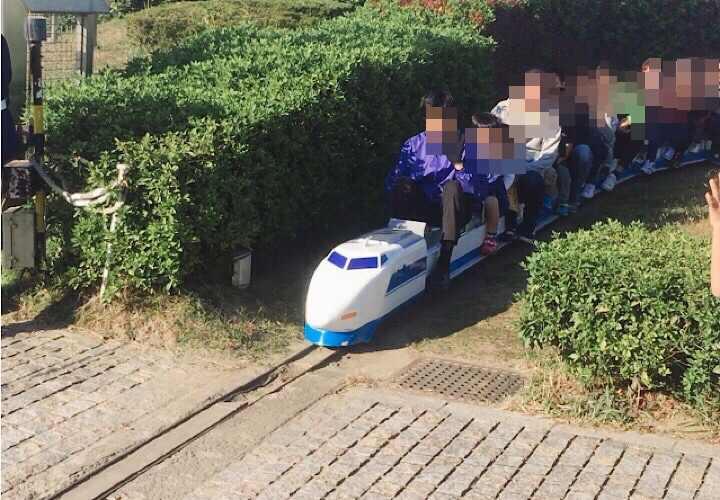 ミニ新幹線運行