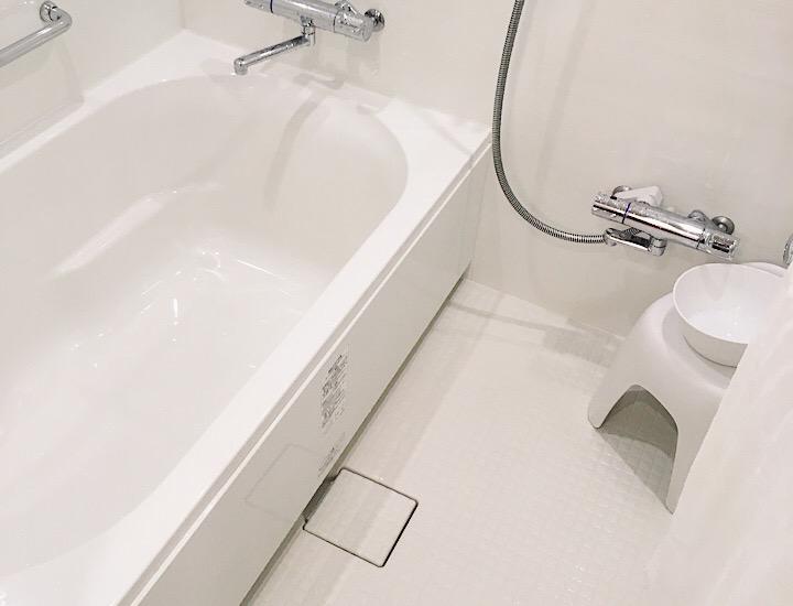 東京ベイ東急ホテルの浴室