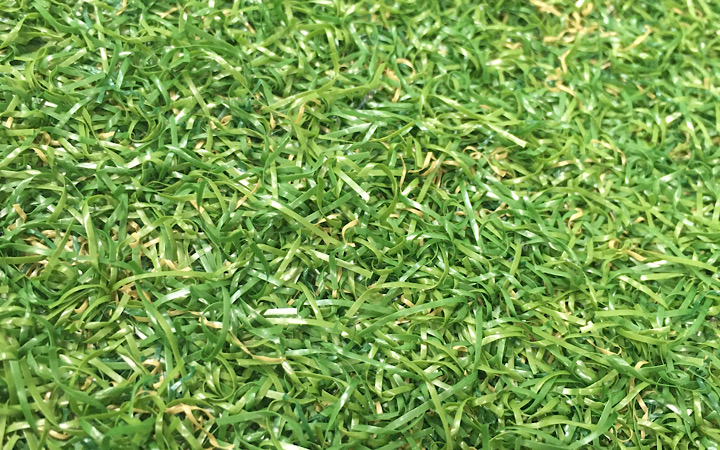 ナムコランドの人工芝の写真