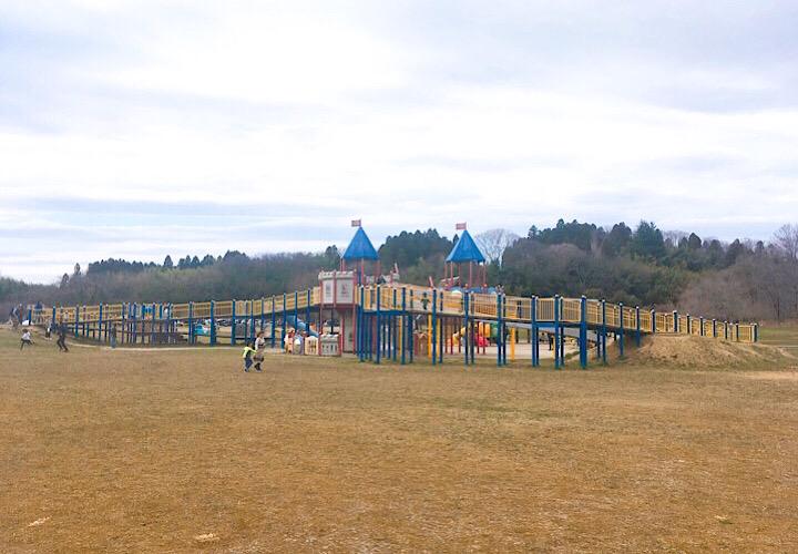 モリリン加瀬沼公園の大型遊具