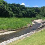 宮城県の川遊びなら七ツ森の「蛇石せせらぎ公園」がおすすめ!じゃぶじゃぶ池もあり