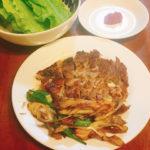 キャンプ飯におすすめ!スキレットで作るサムギョプサルのレシピ