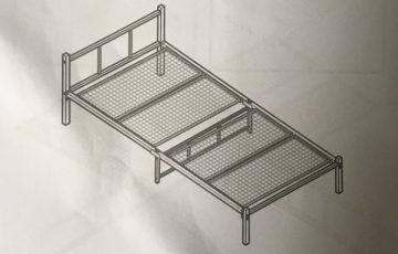 ニトリの最安値シングルベッドの骨組み