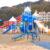 長浜海浜公園の大型遊具